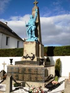 Monument aux morts aujourd'ui