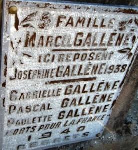 bangor famille GALLENE